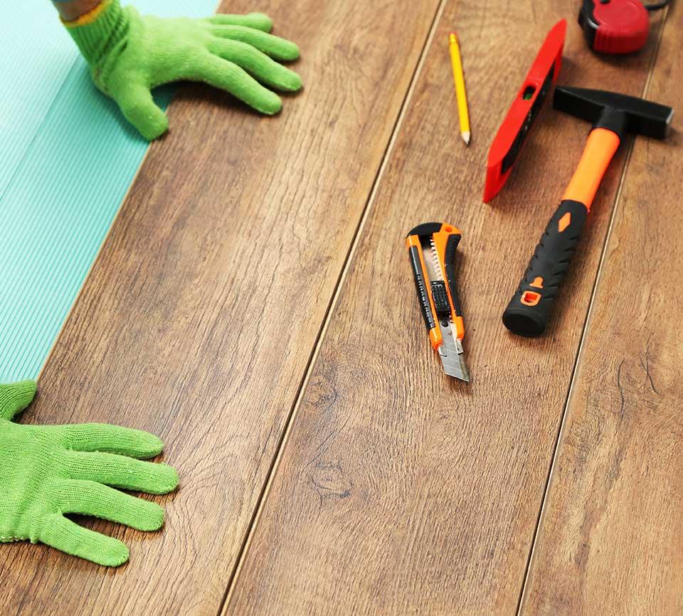 Install Flooring